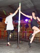 Enterrement de vie de jeune fille - leçon de pole dance