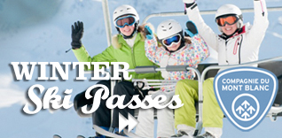 Winter ski passes